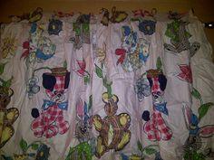 1950s vintage child's curtains by OldArkansasFarmhouse on Etsy