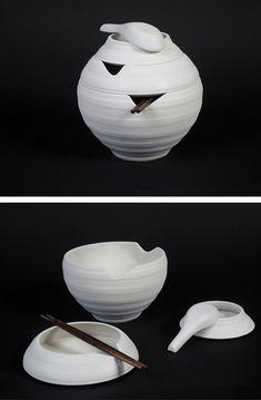 Pho Tableware Design was Inspired by Vietnamese Lantern