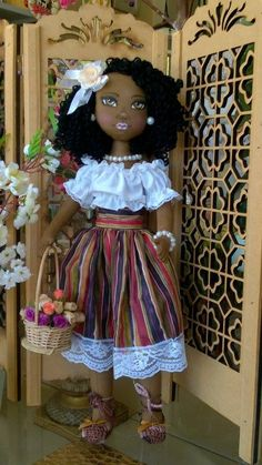 amo las muñecas negras