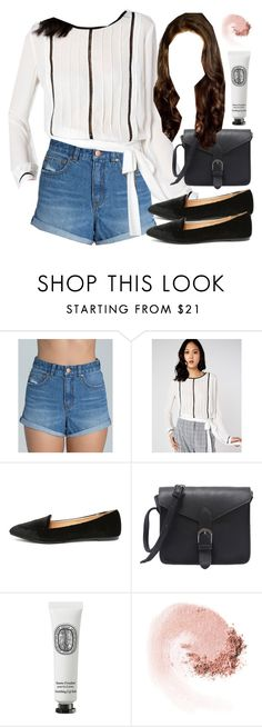 """Spencer Hastings inspired outfit with high waisted denim shorts"" by liarsstyle ❤ liked on Polyvore featuring Billabong, Yoki, Diptyque, NARS Cosmetics, date, weekend, mid, ss and museum"
