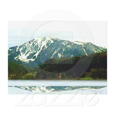 Great size for Your wall Mountains Austria 2000 Giclee jGibney The MUSEUM