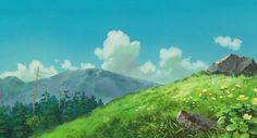 hayao miyazaki landscape - Google Search