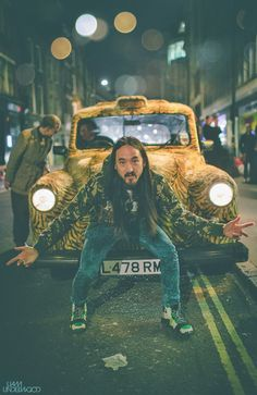 Taxi Tiger Crouching Aoki (Steve Aoki) This board is for all #EDM Lovers who dig…