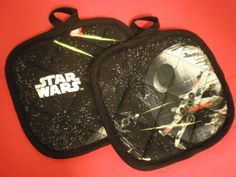 Star Wars Pot Holders by HauteMessThreads on Etsy,