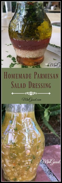 A homemade parmesan cheese salad dressing recipe that works great on any salad! So easy to make...come taste the difference!
