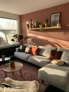 Living Room Tv, Living Room Colors, Apartment Living, Home And Living, Living Room Designs, Living Room Inspiration, Home Decor Inspiration, Home Room Design, House Design
