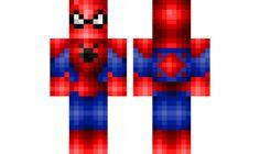 spider man Minecraft Skin