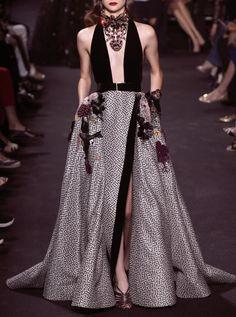 Elie Saab Haute Couture Fall/Winter 2016. Paris Fashion Week.