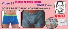 BOXER 21 TOMO 2 Curso de ropa intima Lingerie Patterns, Sewing Lingerie, Lingerie For Men, Barbie Patterns, Men's Undies, Underwear, African Shirts, Men's Briefs, Sewing Hacks