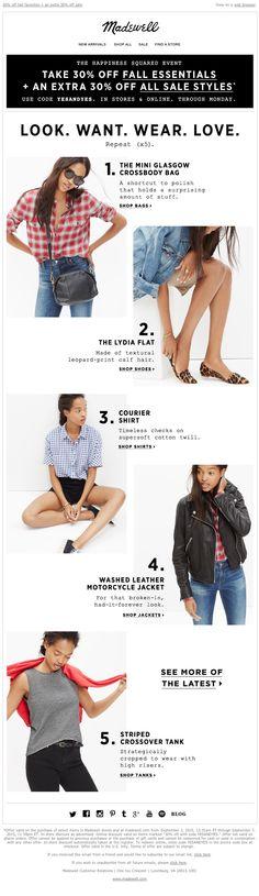 Madewell - Necessary (5 styles, 2 sales)