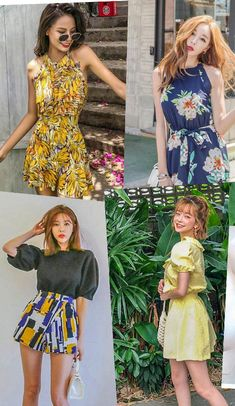 10 Fun and Practical Styles to Pack for Your Next Sunny Vacation #fashiontrend #koreanfashion #koreanstyle