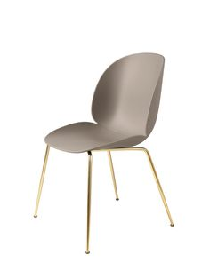 GUBI // Beetle Chair, unupholstered, by GamFratesi