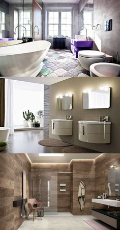 Designing A Modern Bathroom - New Look - http://interiordesign4.com/designing-a-modern-bathroom-new-look/