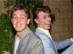 David Bowie + Paul McCartney