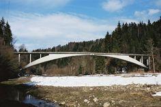 Robert Maillart's Rossgraben Bridge, 1932