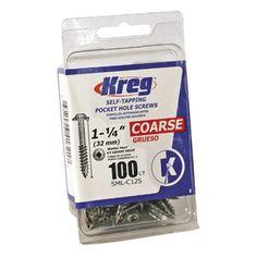 $4.08 Kreg 100-Count 1.25-in C - PH Screws