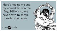 When I win my #megamillions...