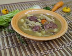 Ham+Bone+&+Gungo+Peas+Soup