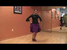 Dancing the Flamenco : Flamenco Dancing: Two Step Sequence - YouTube
