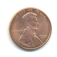 USA One Cent 1994 Coin Code:RSC2187 by COINSnCARDS on Etsy