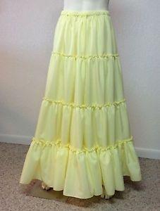 5b31bbea0544 Prairie Square Dance Petticoat Yellow By Eva's Petticoats | eBay Square  Dance, Petticoats, Dance