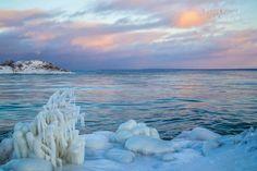 Frozen Lake Superior-UP MI