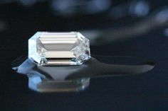 New Acquisition - #EmeraldCut #Diamond - 3.00Ct Q/R - SI1 Emerald Cut, Diamonds, Container, Rings, Beautiful, Diamond, Ring, Canisters, Jewelry Rings