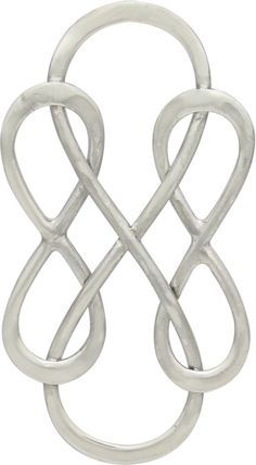 Sterling Silver Triple Infinity Link