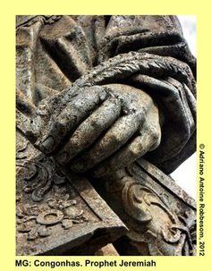 CONGONHAS. MG: Prophet Jeremiah