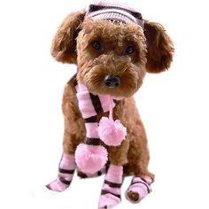 Dog Costume Leg Warmers