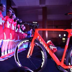 Team presentation and Canyon bikes Team Katusha @tdwsport