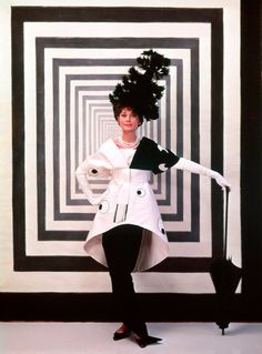 Audrey Hepburn in a Cecil Beaton costume for My Fair Lady (1964)