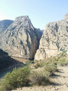 Espectaculares vistas del desfiladero de El Chorro y su Caminito del rey