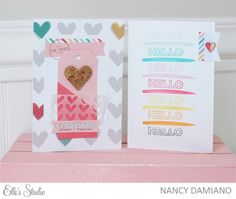 Little Moments Cards by Nancy Damiano for Elle's Studio