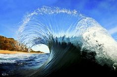 Surfer and Surf Photographer, Clark Little, captures stunning images of waves from the barrel, inside out. No Wave, Clark Little Photography, Waves Photography, Amazing Photography, Digital Photography, Photography School, Photography Photos, Nature Photography, Photo Grid