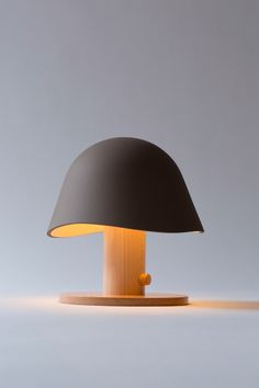 Mush Lamp, Led Table Light Shaped as Wild Mushroom. Designed by Claudia Garay, the lamp is a product of Garay Studio, based in Madrid. Bedside Lamp, Desk Lamp, Table Lamps, Diy Lamps, Light Table, Lamp Light, Interior Lighting, Lighting Design, Design Light
