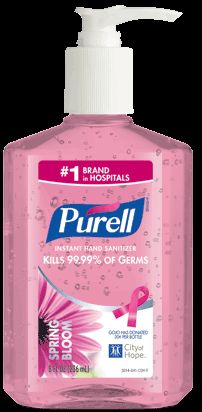 PURELL Instant Hand Sanitizer Spring Bloom GOJO will donate from every specialty marked bottle of Spring Bloom to The City of Hope to support breast cancer research Susan Martinez, Fork Jewelry, Breast Cancer Support, Hilarious Stuff, Spring Blooms, Free Samples, Hand Sanitizer, Charity, Giveaway