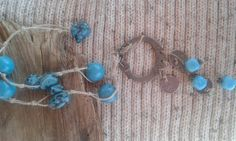 A howlit necklace. Handmade. by BulbaDesign on Etsy