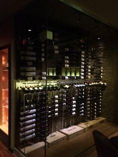 Charcoal Wine Cellar Glass
