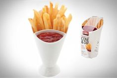 Daily Discovery: French Fry Cone #hosting #entertaining
