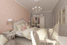 Дизайн спальни в пастельной палитре http://www.decoplus.ru/desspal