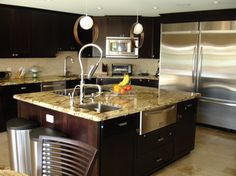 Hollywood Residence contemporary-kitchen