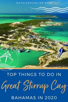Norwegian Cruise Line guests have been visiting Great Stirrup Cay in the Bahamas for decades. Recently, the cruise line has revitalized the island, adding new attractions, restaurants, and tours. So, to help cruisers make the most of their time ashore, we have put together our 10 Best Things to Do on Great Stirrup Cay, Bahamas. #Bahamas #thingstodo #NCL #cruise #eatsleepcruise