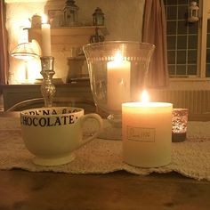 I have hot lemon and honey (thanks to a reminder from lovely @foxmumsey )and a beautiful scented candle on the go whilst I edit a short film I made of St Victor. Hope to share with you all soon!