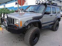 Cherokee Sport, Jeep Cherokee Xj, Modificaciones Jeep Xj, Jeep Xj Mods, Jeep 4x4, Jeep Truck, Lifted Trucks, Ford Trucks, Jeep Commander