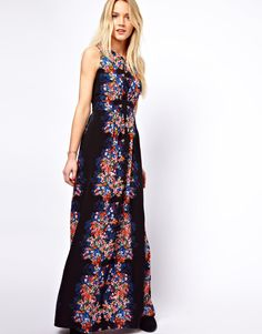 A Wear | A Wear Floral Print Maxi Dress at ASOS
