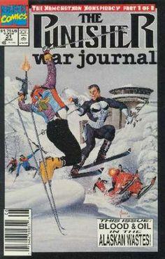 The Punisher War Journal (1988) No. 31