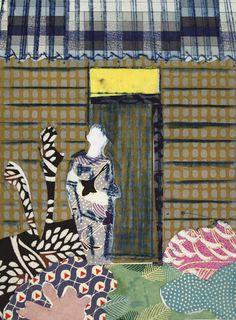 Tom Hammick | Weekender | Flowers Gallery (IFPDA)  http://www.printed-editions.com/artwork/tom-hammick-weekender--28359