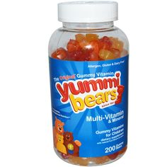 Hero Nutritional Products, Yummi Bears Multi-Vitamin $20.65 http://www.iherb.com/Hero-Nutritional-Products-Yummi-Bears-Multi-Vitamin-Mineral-Natural-Fruit-Flavors-200-Gummy-Bears/5814