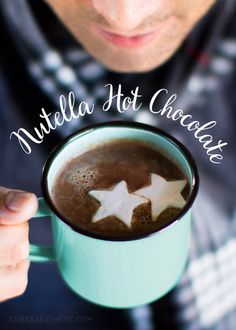 Nutella Hot Chocolate with Schnapps